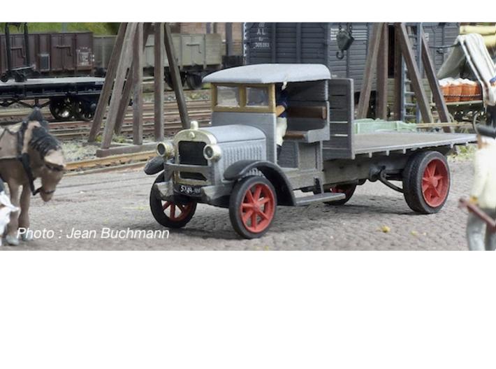 1:87 Berliet CBA 1913 3d printed