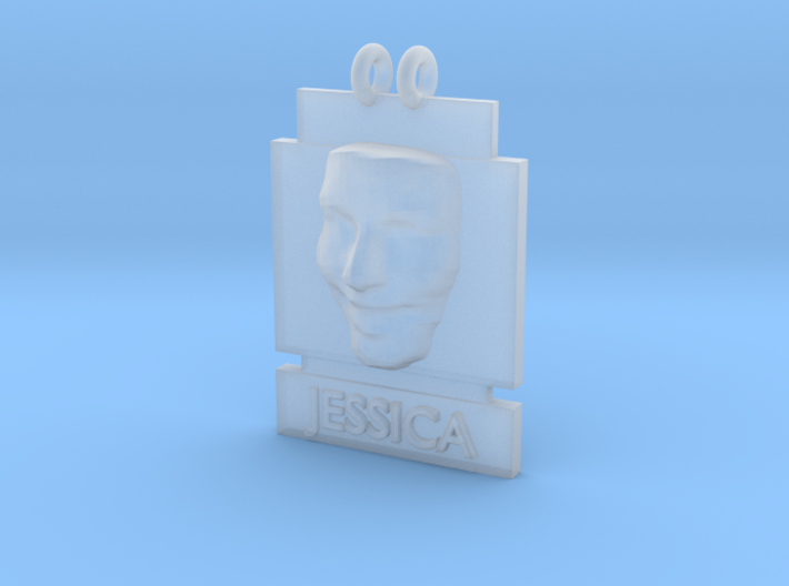 Cosmiton P Jessica Alba 25 mm 3d printed