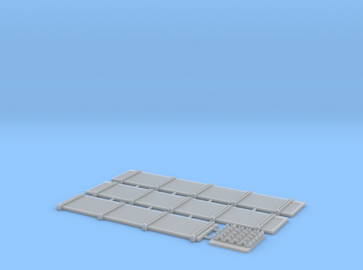 Sdkfz 7 Cargo Bed Sides 3d printed
