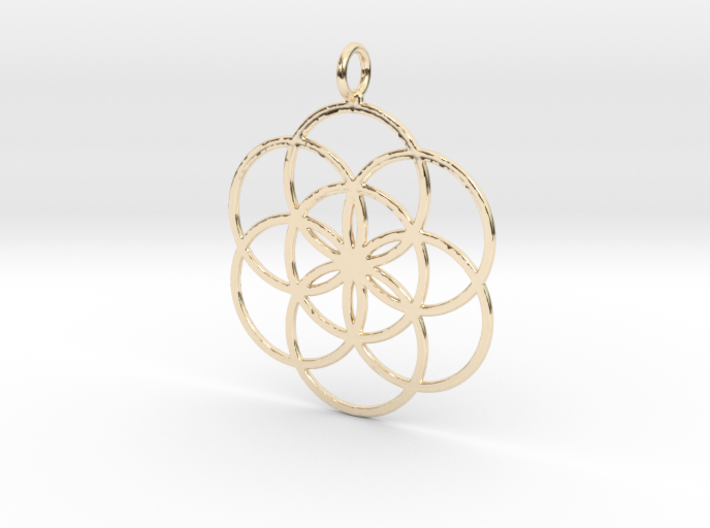 Seed of Life 45mm 3d printed