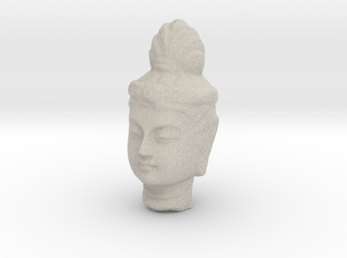 Type 1 Buddha Head (Hollow) 77mm 3d printed