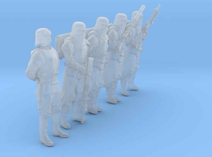 1/46 Sci-Fi Sardaucar Platoon Set 201-06 3d printed
