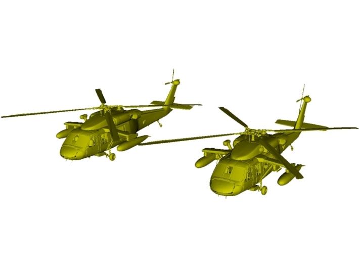 1/200 scale Sikorsky UH-60 Black Hawk x 2 3d printed