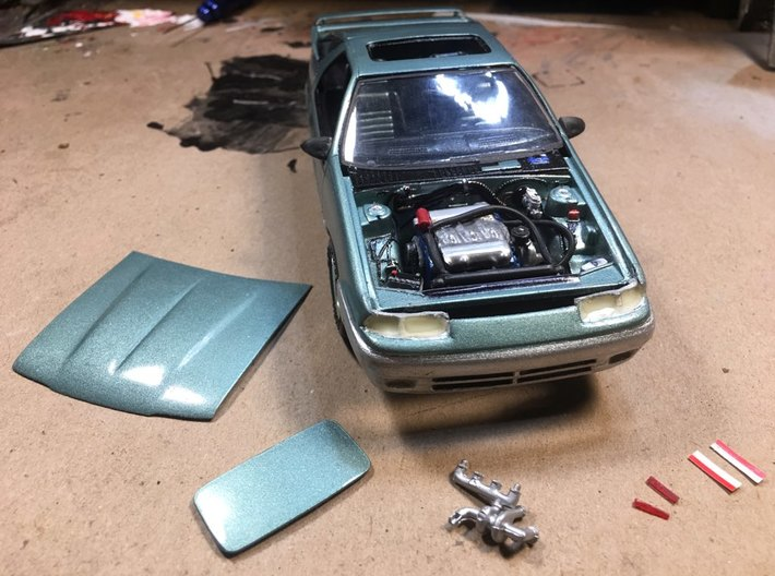1993 DODGE DAYTONA IROC CONVERSION PARTS (6% SMALL 3d printed