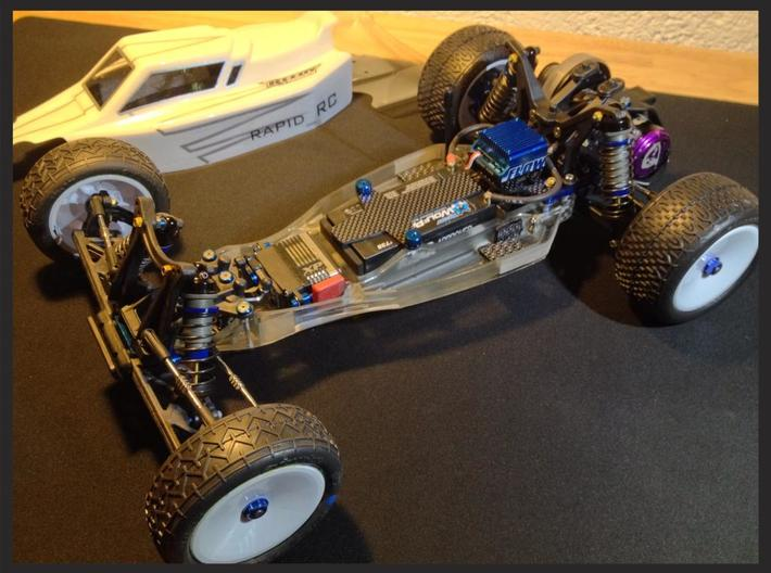 RC10 B4.3 Chassis 3d printed