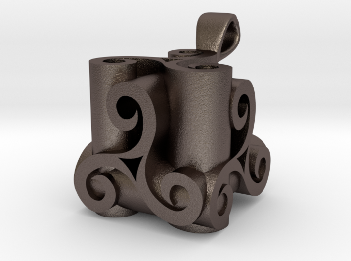 Triskell Intersection 3d printed