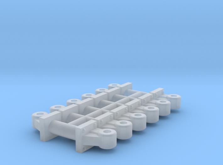 Coupler Lift Bracket (HO - 1:87) 12X 3d printed
