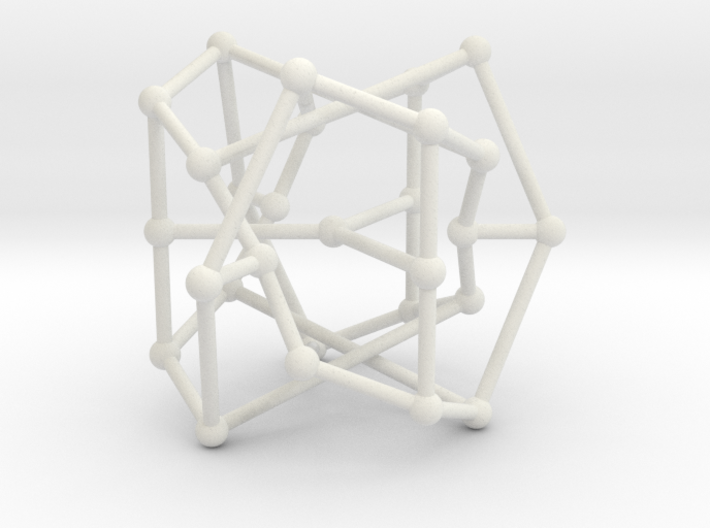 Coxeter graph 3d printed