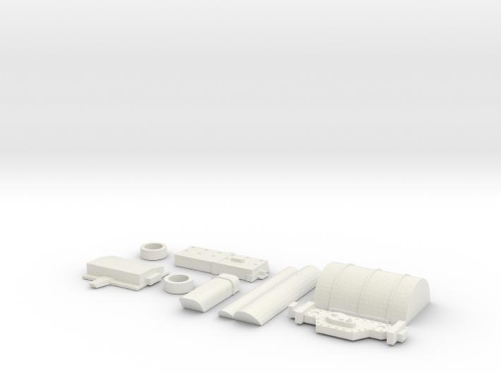 Y-Wing Studio Scale Greeblie Set - Middle Top 3d printed