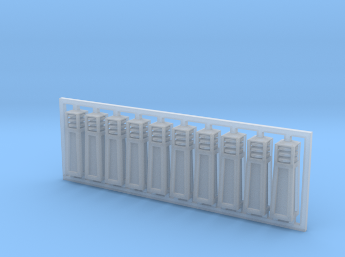 Bollards - Architectural Lighting 3d printed