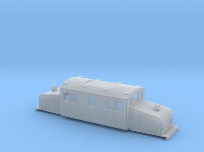Swedish SJ electric locomotive type Oc- N-scale 3d printed