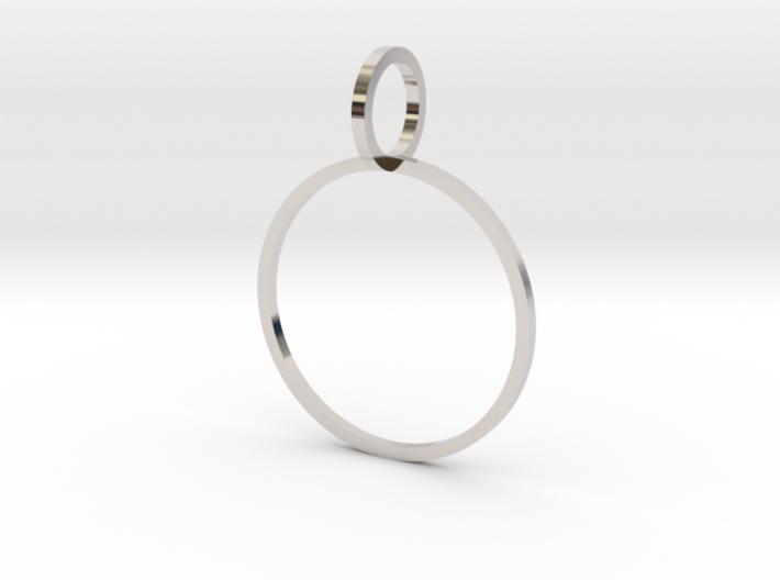 Charm Ring 19.84mm 3d printed