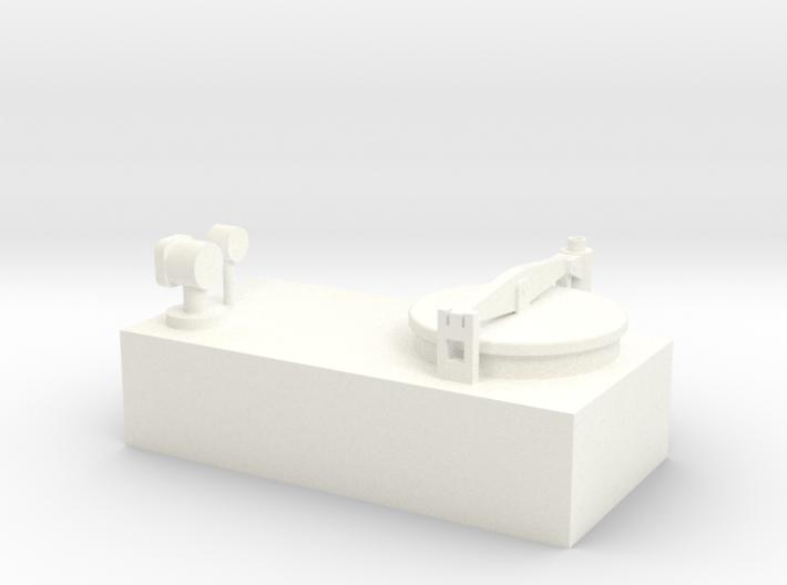 Tankdom für Binnentanker 3d printed