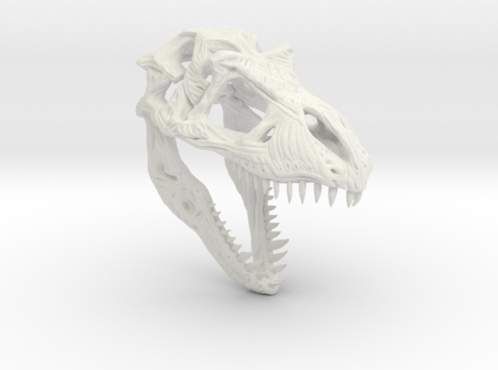 TRexSkull 3d printed