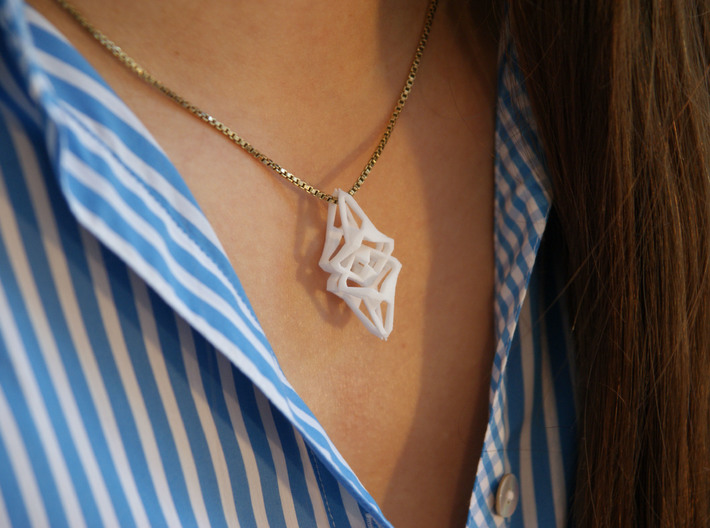 HEART TO HEART Heartinature, Pendant 3d printed