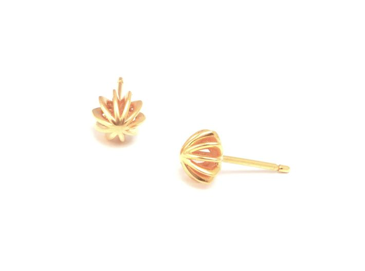 Sea Urchin Earrings small 3d printed pendientes mar