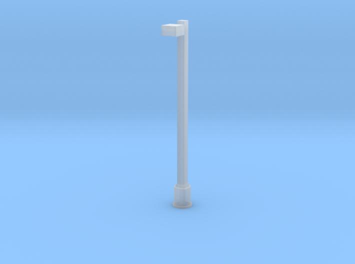 Modern LED Parking Lot/Yard Light - Single Arm 3d printed