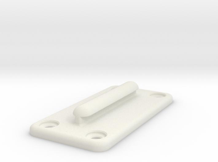 Queue Barrier Belt Clip 3d printed