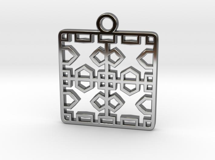 Tessellation Pendant (004) 3d printed