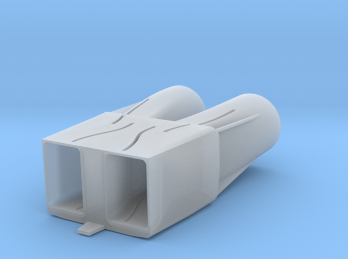 B-1B Engine Intakes 3d printed