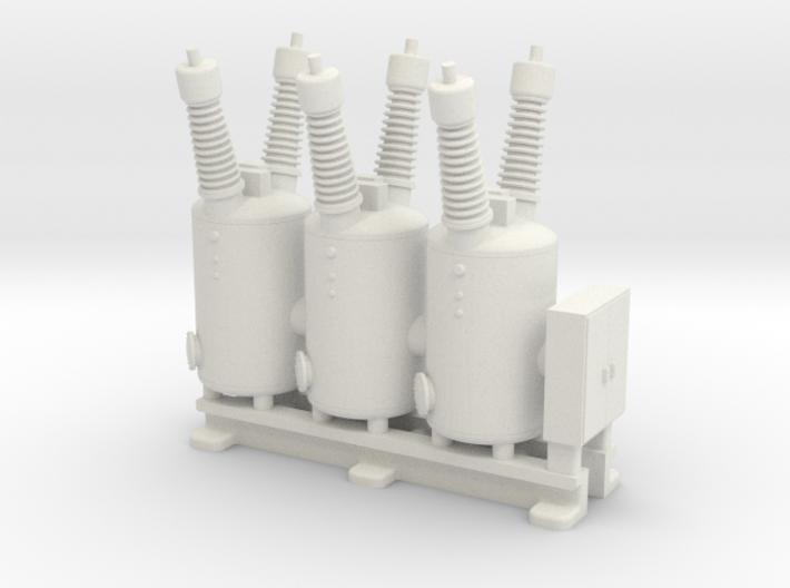Electrical Substation Circuit Breaker 3d printed