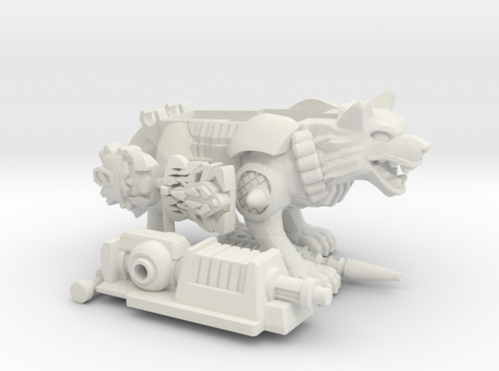 Carnivac PotP Shell 3d printed