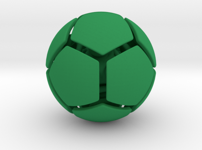 bouncing cat toy ball smooth size S 3d printed
