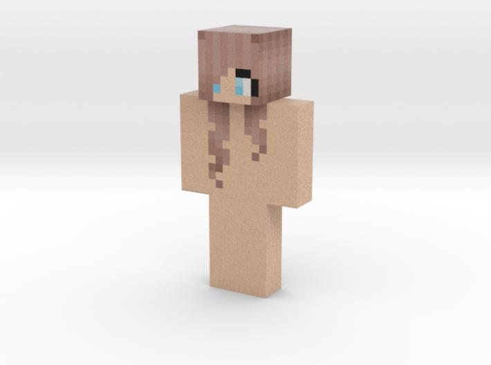 Minerchicken   Minecraft toy 3d printed