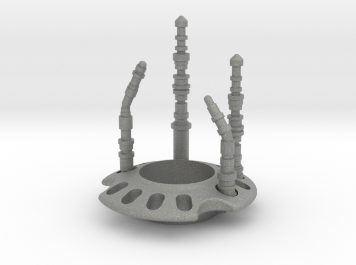 Crystal Detail for Starkiller - Phoenix Props 3d printed