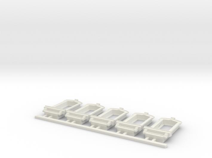 HO WCK Single Fancy Window X 5 3d printed