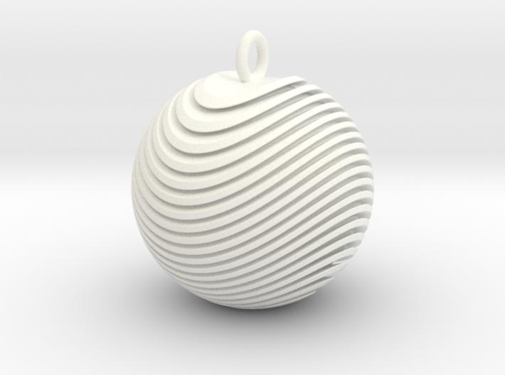 Organio Xmas Ball 3d printed
