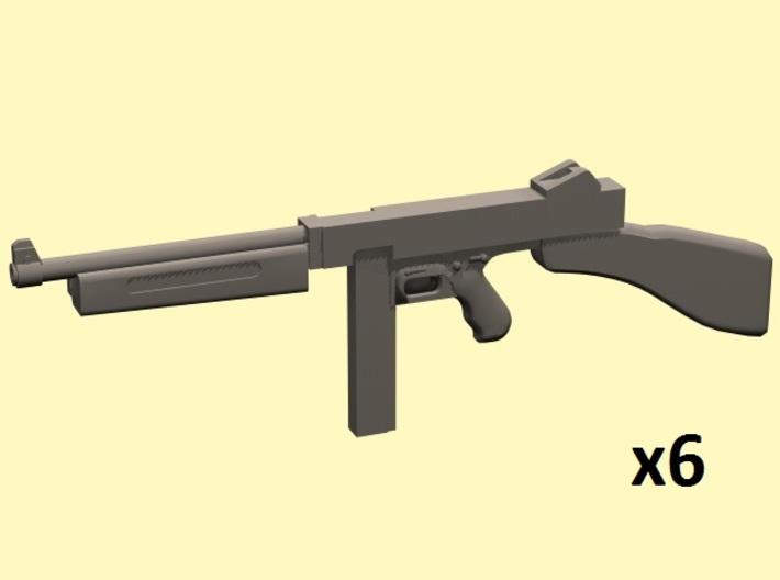 1/24 Thompson M1 x6 3d printed