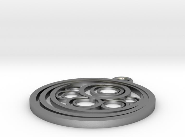 Geometrical pendant no.10 3d printed