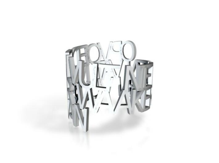 opvoeden-ring 3d printed