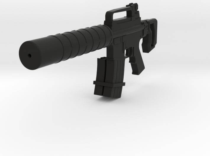 Silent Assault CQB Carbine 3d printed