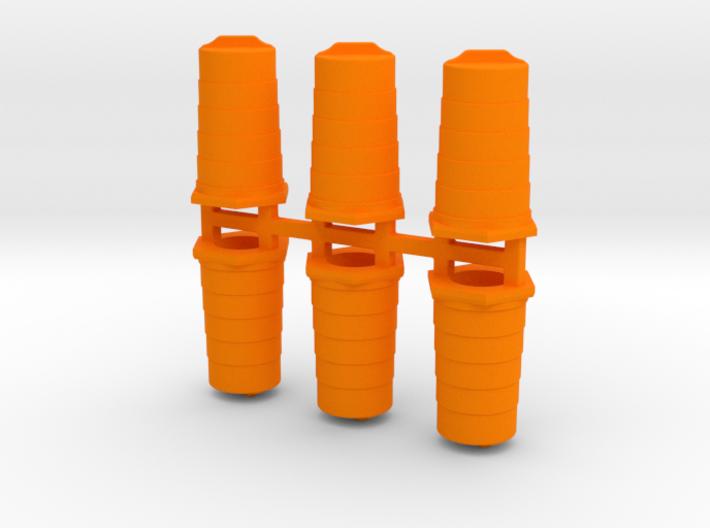 Traffic Barrels/Drums 3d printed