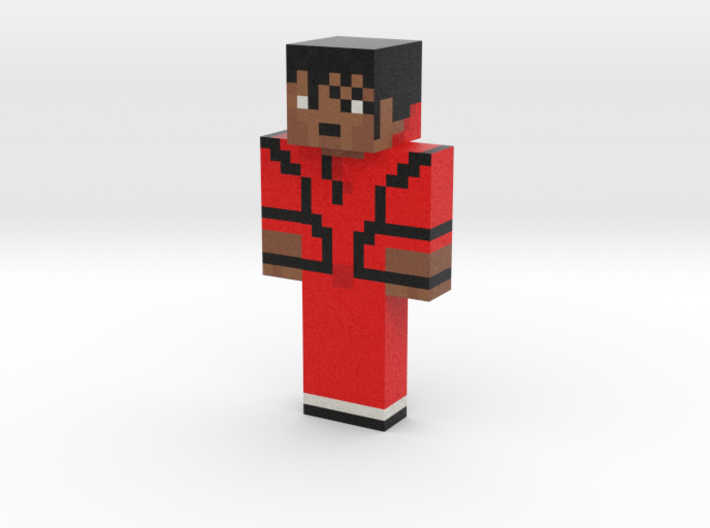 MichaelJackson | Minecraft toy 3d printed