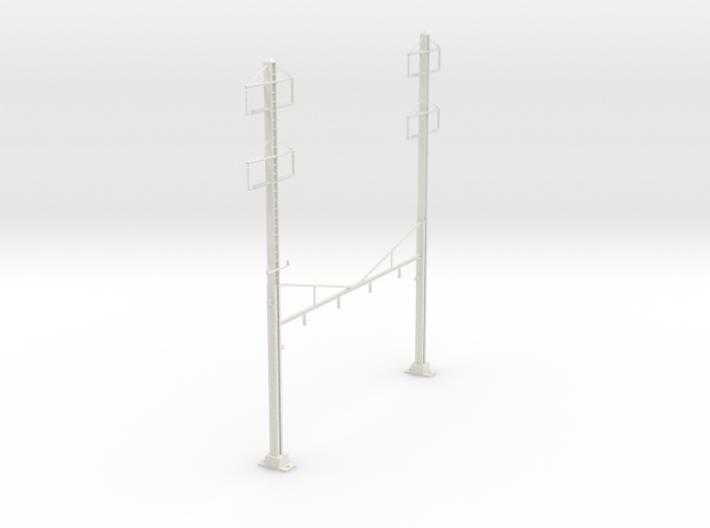 HO Scale PRR K Braced 4 Track 2 2 PHASE REV 3d printed