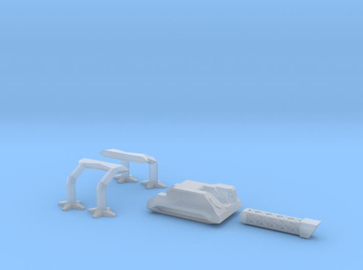 Anti Kaiju Mobile Railgun 3d printed