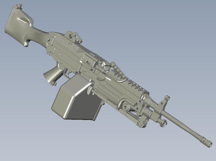 1/18 scale FN Fabrique Nationale M-249 Minimi x 5 3d printed