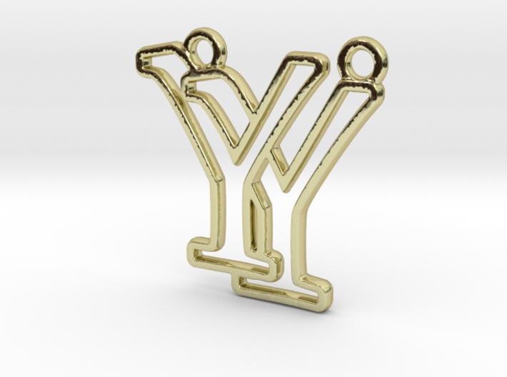 Y&Y Monogram 3d printed