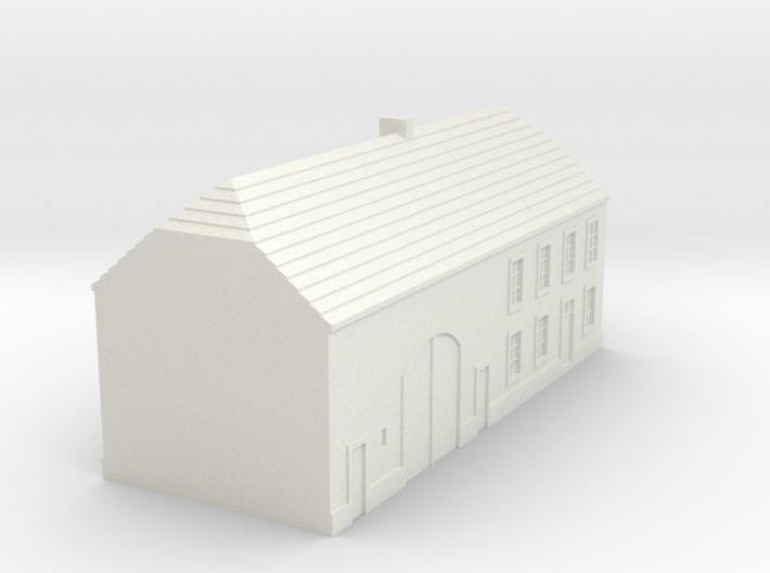 1/350 Barn House 3 3d printed