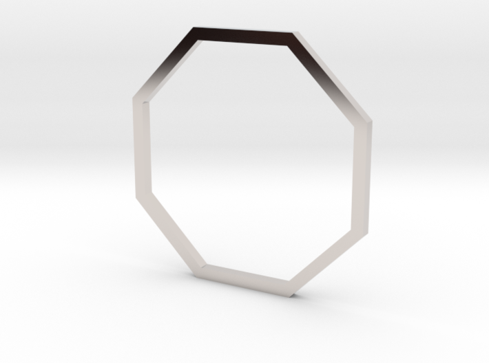 Octagon 18.89mm 3d printed