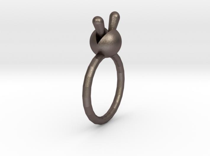 Monilaria Obconica Ring 3d printed