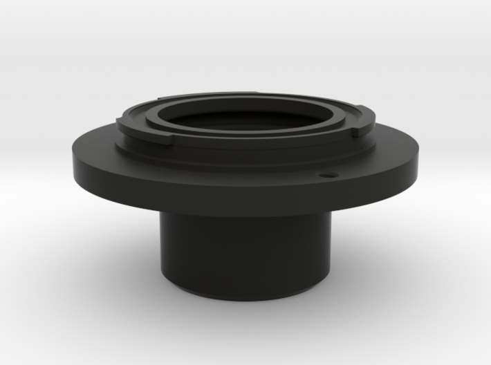"""Sony E-Mount to 1.25"""" Telescope Adapter 3d printed"""