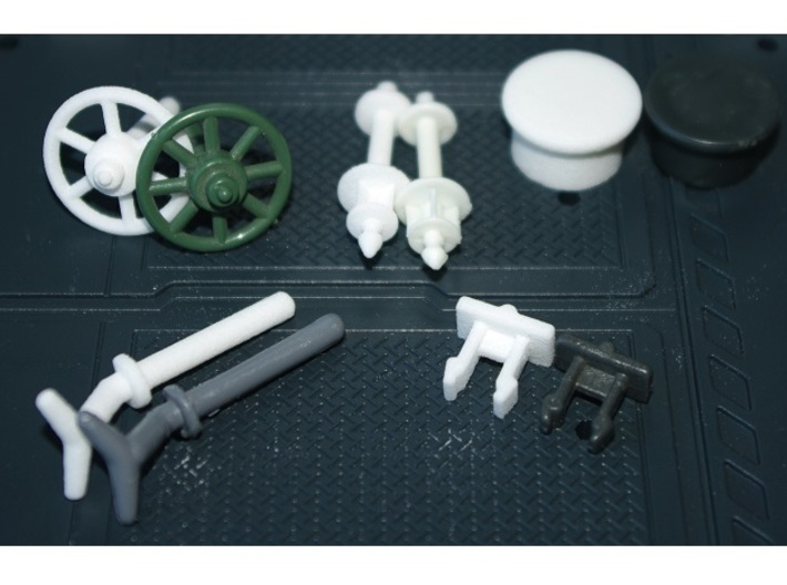 USS Flagg Replacement Purge Valve 3d printed All available USS Flagg replacement parts alongside their original counterparts...