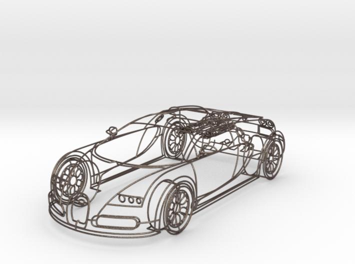 Bugatti Veyron 1:18 3d printed