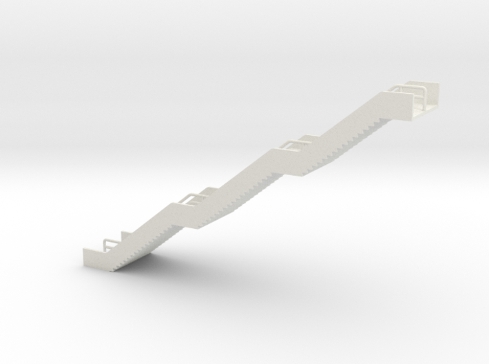 N Scale Station Stairs H65mm 3d printed