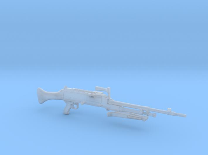 M240 General Purpose machine gun 1/12 3d printed