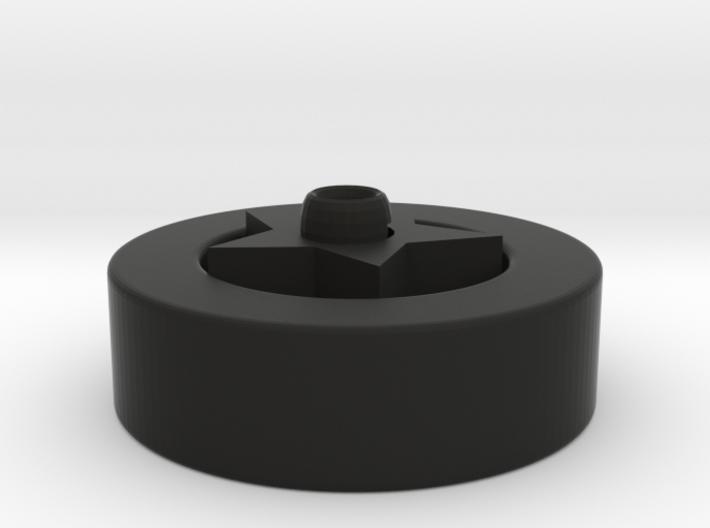 Multi-functional wheel frame 3d printed